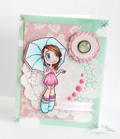 Hello Sunshine by Anna Sigga using Umbrella Gwen
