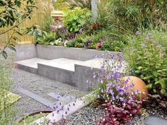 Stone Globe Lights feature in Paul Hervey-Brookes triple award winning garden at the Garden World Cup in Japan, October 2014