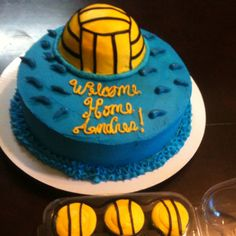 Water polo cake!