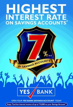 YES BANK offers a wide range of savings account variants to suit your requirements. Get the best banking experience and earn good high returns on your savings accounts.  For more info about YES BANK savings account visit: http://www.yesbank.in/branch-banking/personal/savings-account.html