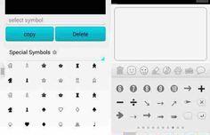 Android Frecce, faccine come digitare caratteri speciali su Watsapp, Facebook, Twitter