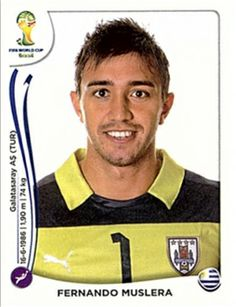 Fernando Muslera - Uruguay team goalkeeper 2014