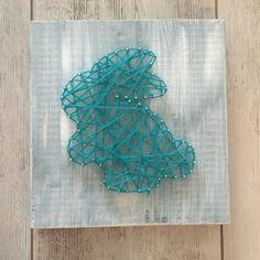 String-art konijntje!