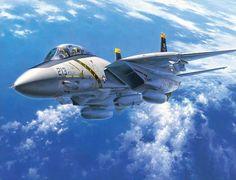 Airplane Fighter, Airplane Art, Fighter Aircraft, Military Jets, Military Aircraft, Air Fighter, Fighter Jets, Tomcat F14, Uss Enterprise Cvn 65