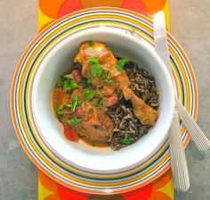 Golden onion chicken: its flavor is built around the classic fresh and dry trios of onions, ginger and garlic and coriander, cumin and turmeric—the aroma beckons everyone to the kitchen. A bit of technique that separates it from the crowd: you fry half of the onions to a deep rich brown before incorporating them into the sauce.