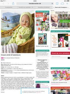 Dukketøj opskrift A side 1