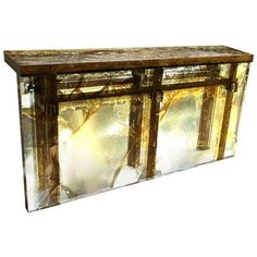 Souvenir of the Last Century Console | From a unique collection of antique and modern console tables at https://www.1stdibs.com/furniture/tables/console-tables/