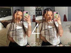 Travis Scott Hair, Travis Scott Braids, Kids Hairstyles Boys, Boy Hairstyles, Girls Braids, Extensions, Wigs, Dreadlocks, Hair Styles