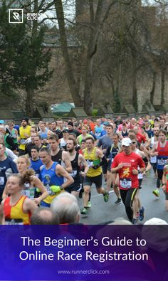 The Beginner's Guide to Online Race Registration #Runnerclick