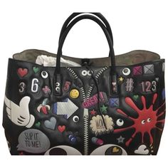 Pre-Owned Anya Hindmarch Ebury Maxi Multicolour Leather Handbag Anya Hindmarch Fashion, Selfridges London, British Fashion Awards, Global Brands, British Style, World Of Fashion, Luxury Branding, Leather Handbags, Diaper Bag