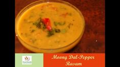 Moong Dal Rasam | Mung Dal | Split Green Dal Recipe | Indian Curry