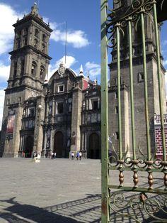 catedral de Puebla, Mexico.