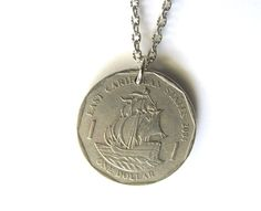 Coin Necklace Caribbean $18