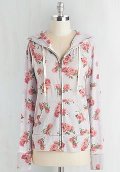 Try a Little Loveliness Hoodie in Stone, @ModCloth
