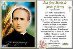 Rincón de la Oración: Estampa Oración de San José María de Yermo y Parre...
