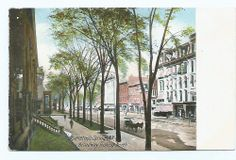 Saratoga Springs Broadway Looking North, NY, Vintage Postcard, Undivided Back  $3.99+ Spring In New York, Spring New, Saratoga Springs New York, Upstate New York, Vintage Postcards, Broadway, Vintage Travel Postcards