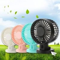 Wish | Mini Super Quiet USB Rechargeable Charging Ventilador USB Fan Air Conditioning for Home School Office