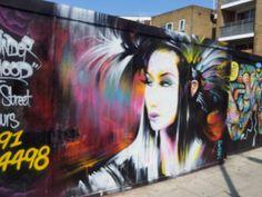Shoreditch, London .