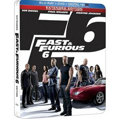 RIP PW Fast & Furious 6 (Blu-ray + DVD + Digital HD) (Limited Edition Steelbook Package) (Widescreen)