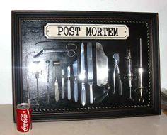 RARE ANATOMICAL MORTICIAN POST MORTEM AUTOPSY MEDICAL INSTRUMENTS SET IN CASE. | eBay