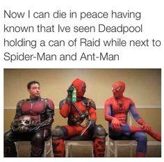 Classic Deadpool shenanigans