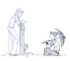 Remember when... by *Saisoto on deviantART   Abby misses Kate