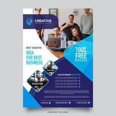 Business flyer template Premium Vector #flyer, #flyertemplate, #flyerdesign, #business, #corporate, #company