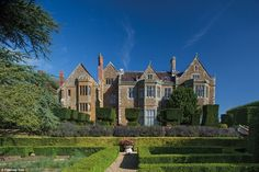 The luxurious Grade I-listed property, which was mentioned in the Domesday Book, is set in 2,000 acres of the lush Northamptonshire countryside, and boasts stunning gardens – partly designed by Capability Brown