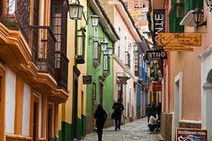 18th century houses in Calle Jaen, La Paz, Bolivia (©photocoen)