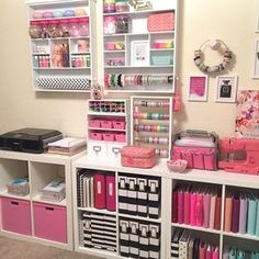 Some late night cleaning up and moving supplies around. More pictures to come! Goodnight sweet friends #craftygirl #HautePinkFluffHQ