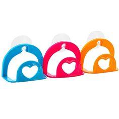 RoseSummer 1Pcs Home Kitchen Holder Tools Gadget Decor Convenient Sponge Suction Cup Random Color