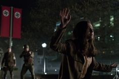 Man in the High Castle centers on Julianna as she gets mixed up with the resistance. (Amazon Photo)  Will 2017 be remembered as the year fake and real lost all meaning? Were certainly on the right track. In a delightfully post-factual turn of events some supporters of President Donald Trump have misinterpreted an Amazon marketing attempt as a political tool advancing the liberal agenda.  Let me explain.  Amazon Studios Man in the High Castle is a fictionalized historical drama that imagines…