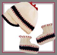 Baby Sailor Onesie Romper Knitting pattern by T Bee Cosy Visor Beanie, Paintbox Yarn, Red Heart Yarn, Yarn Brands, Crochet Basics, Free Baby Stuff, Baby Booties, Crochet Designs, Knitting Patterns