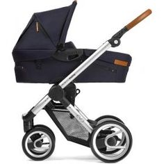 Mutsy Evo Silver Complete Pushchair (Urban Nomad Deep Navy) £429