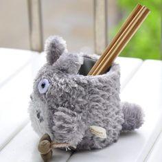 Kawaii Totoro Anime Pen Container - Japanese Kawaii Pen Shop - Cutsy World Kawaii Pens, Pen Shop, Totoro, Plush, Container, Japanese, Anime, Shopping, Japanese Language