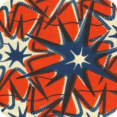 Tissu star wax Plus Textile Prints, Textile Patterns, Print Patterns, African Textiles, African Fabric, African Prints, Afrique Art, Repeating Patterns, Illustrations