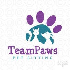 Team Paws Logo - SOLD