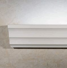 Cornice is a surface mount cove available with 34.6W LED, T5 fluorescent or empty. The body is made of Aircoral® a unique patented composite material that actually purifies the air. You can calculate how many cubic feet each fixture will purify below.