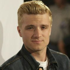 The hunger games.  He also looks way better with dark hair not blond.