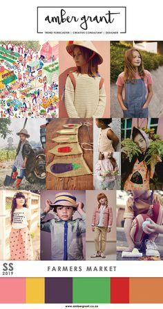 SS19 Childrens Trend: Farmers Market  www.ambergrant.co.za #SS19 #SS2019 #Trend #MicroTrend #TrendAlert #EmergingTrend #TrendForecaster #Trendy #Trending #Fashion #KidsFashion #ChildrensFashion #TrendSetter #BoysTrend #GirlsTrend #BoysFashion #GirlsFashion #AmberGrant #FashionBlogger