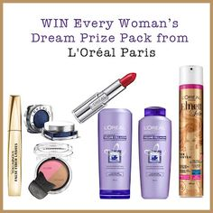 Win a L'Oreal Dream Beauty Prize Pack! (CAN 02/29) Grocery Coupons, Printable Coupons, Loreal Paris, Packing, Lingerie, Shopping, Beauty, Bag Packaging, Underwear
