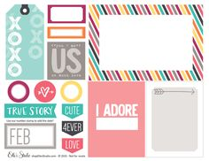 XOXO - Printables by Elle's Studio