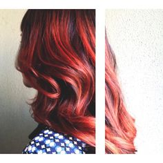 """Red with envy, styled by Kelli (Crafter 2) at #TribecaSouthTampa! #RedHair"""