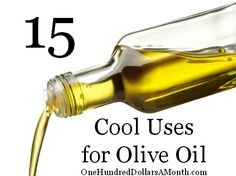 Olive Oil uses. My favorite: Keep the cat healthy. Add a teaspoon of olive oil to cat food to prevent hairballs and keep their coat shiny. Olive Oil Uses, Olive Oils, Olive Oil Benefits, Refined Oil, Natural Cleaners, Frugal Tips, Health Goals, Things To Know, Money Saving Tips