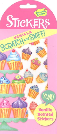 Vanilla Scratch & Sniff! Stickers | Main photo (Cover)