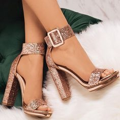 Sequin Open Toe Line-Style Buckle Platform Prom Sandals Pailletten Open Toe Line-Style Schnalle Plattform Prom Sandalen The post Pailletten Open Toe Line-Style Schnalle Plattform Prom Sandalen & Shoes appeared first on Shoes . Stilettos, Pumps Heels, Stiletto Heels, Shoes High Heels, Sandal Heels, Women's Shoes, Heeled Sandals, Shoes Sneakers, High Heeled Boots