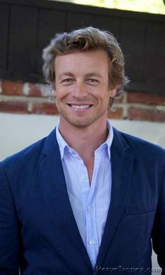 "Simon Baker as Patrick Jane has just got one of those heart-melting smiles!!! :"") <3"