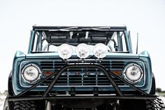 Classic ford bronco grill Timkhana