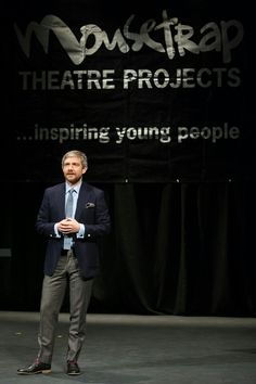 Martin at Mousetrap Award, 2015
