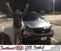https://flic.kr/p/CSzJab | #HappyBirthday to Jason from Kathy Parks at Southwest KIA Rockwall! | deliverymaxx.com/DealerReviews.aspx?DealerCode=TYEE